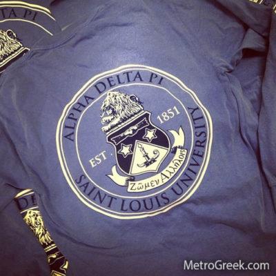 Alpha Delta Pi Crest T-shirt