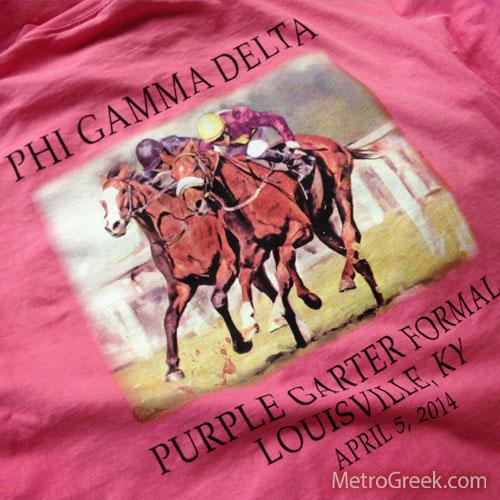 Fiji Purple Garter Formal T-shirt