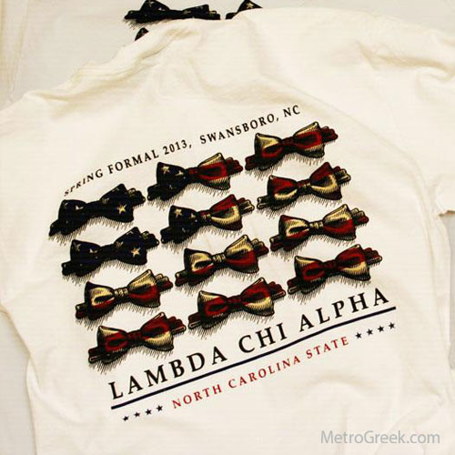 Lambda Chi Alpha Formal T-shirt