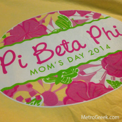 Pi Beta Phi Mom's Day T-shirt