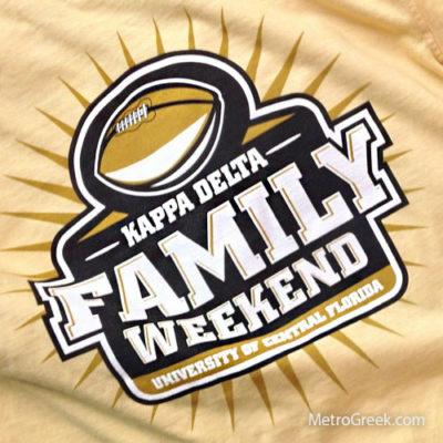 Kappa Delta Family Weekend T-shirt