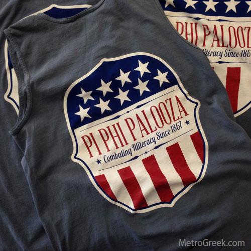 Pi Beta Phi Palooza T-shirts