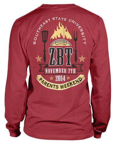 Zeta Beta Tau Family T-Shirt
