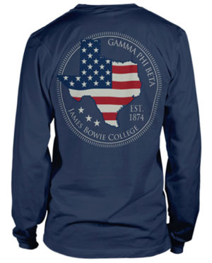 Gamma Phi Beta Texas Shirt