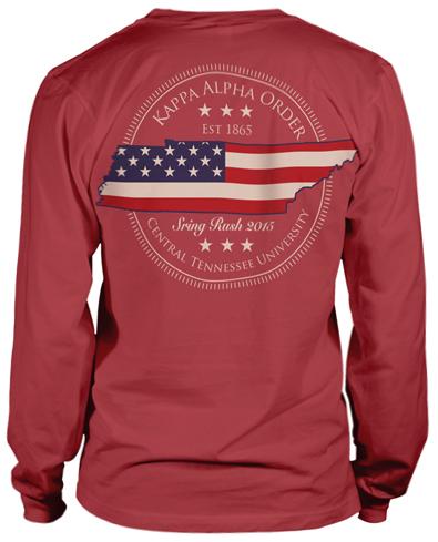 Kappa Alpha Tennessee Shirt
