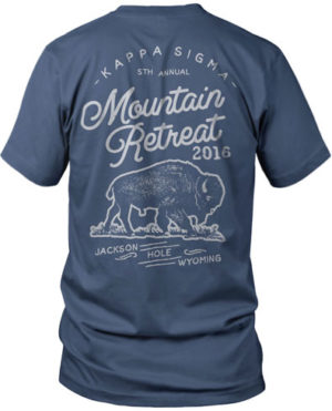 Kappa Sigma Mountain T-shirt