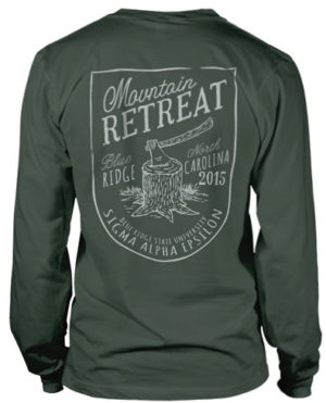 Sigma Phi Epsilon Mountain Retreat T-shirt