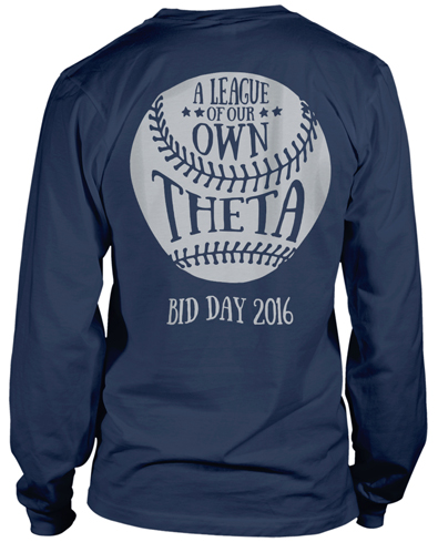Kappa Alpha Theta Bid Day T-shirt