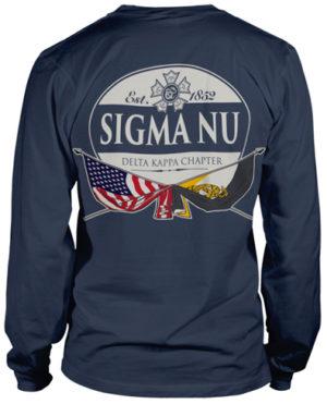 Sigma Nu Flag T-Shirt