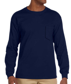 Gildan Long Sleeve Pocket T-shirt