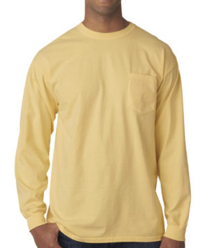 Comfoprt Colors Pocket Long Sleeve T-shirt