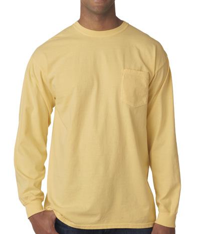 Comfoprt Colors Pocket Long Sleeve T-shirt