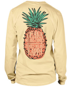 Sorority pineapple t-shirt