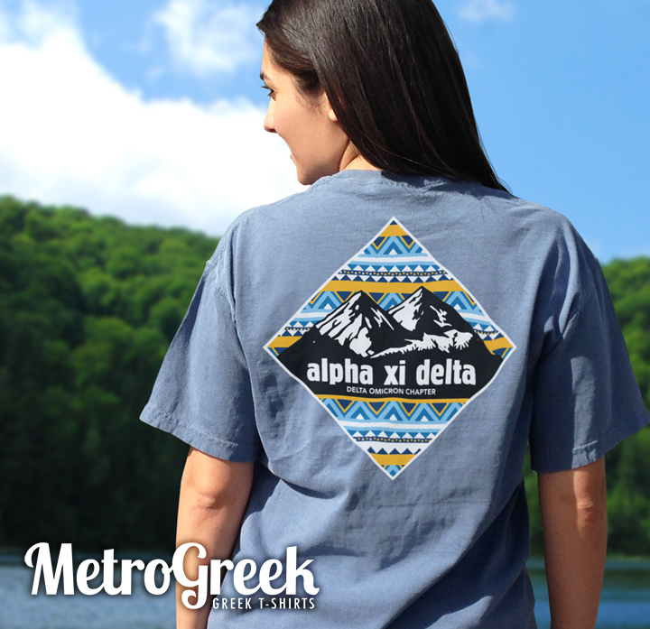 Alpha Xi Delta Mountain T-shirt