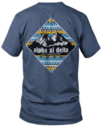 Alpha Xi Delta Mountain T-shirt