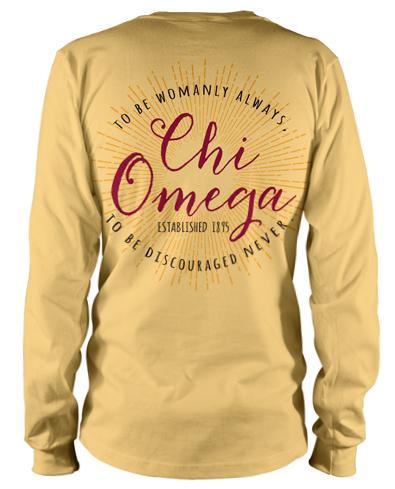 Chi Omega Sunburst T-shirt