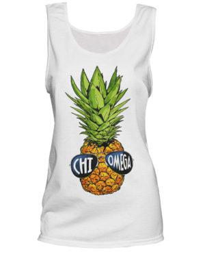 Chi Omega Pineapple Head T-shirt