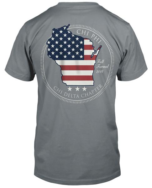 Chi Phi Fraternity T-shirt