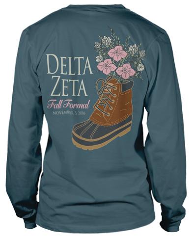 Delta Zeta Formal T-shirt