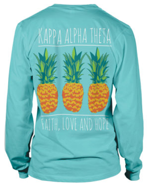Kappa Alpha Theta Pineapple T-shirt