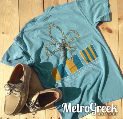 Kappa Kappa Gamma Nautical T-shirt