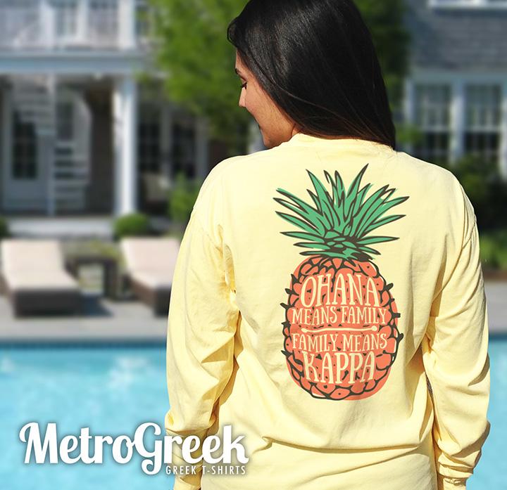 Kappa Kappa Gamma Pineapple T-shirt
