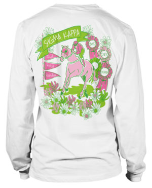 Sigma Kappa Bid Day Derby T-shirt