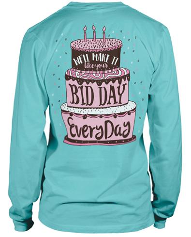 Bid Day T-shirt Idea