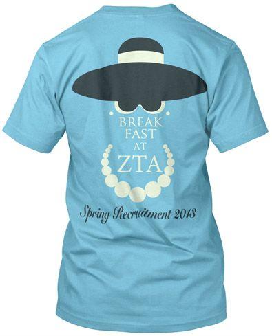 Zeta Tau Alpha Recruitment T-shirt