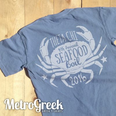 Fraternity Seafood Boil T Shirt