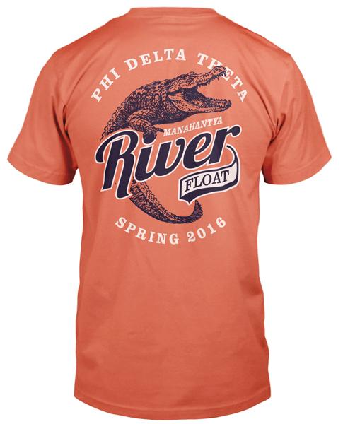 Phi Delt River Float T-shirt