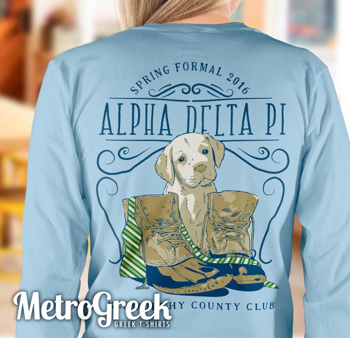 Alpha Delta Pi Formal T-shirt