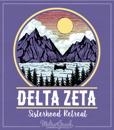 Delta Zeta Sisterhood Retreat Shirt