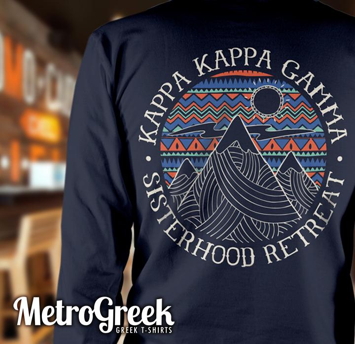 Kappa Kappa Gamma Sisterhood Retreat T-shirts