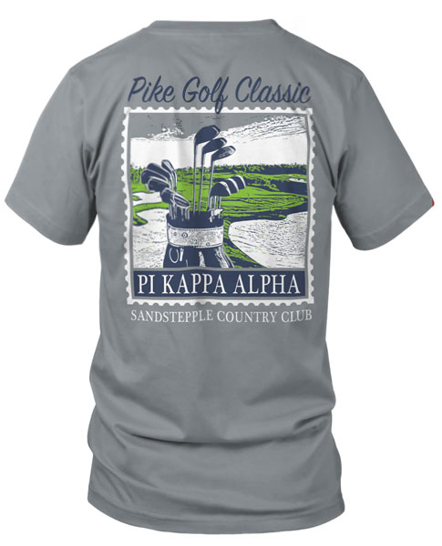 9006 Pi Kappa Alpha Golf Tournament Shirt Greekshirts