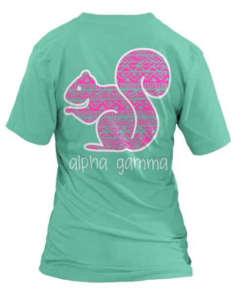 Alpha Gamma Delta Squirrel T-shirt