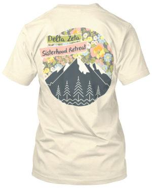 1065 Delta Zeta Sisterhood Retreat T-shirt