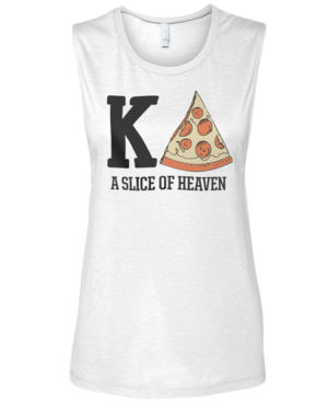 Kappa Delta Pizza Muscle T-shirt