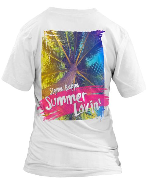 1069 Sigma Kappa Summer T-shirt | GreekShirts