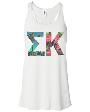 Sigma Kappa Summer Tank Top