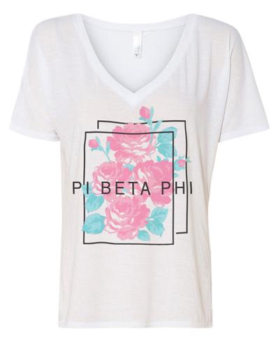 Pi Beta Phi Slouchy V-neck