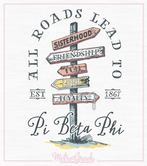 Pi Beta Phi Recruitment T-shirt