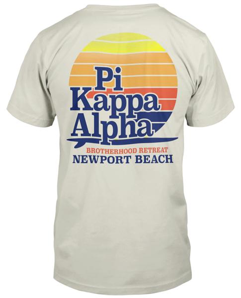 Pi kappa alpha tee shirts aztec sweater dress for Frat pocket t shirts