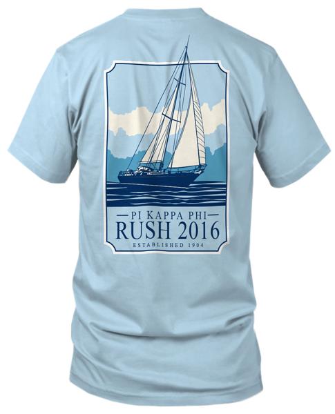 Pi Kappa Phi T Shirt Designs