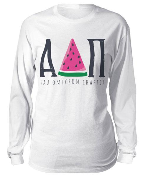 Alpha Delta Pi Watermelon T-shirt