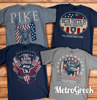 Fraternity Rush T-shirts