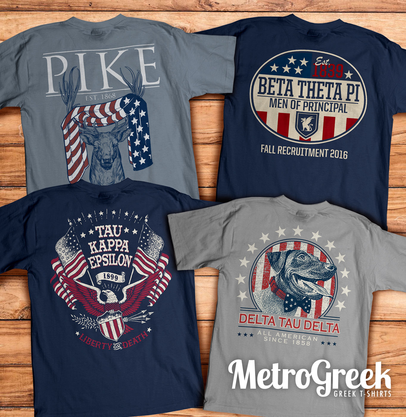 Americana fraternity rush t shirts greekshirts for Sorority t shirt design