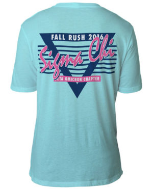 Sigma Chi Retro Rush T-shirt
