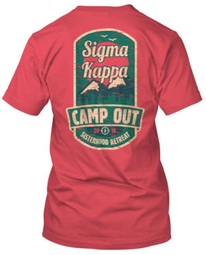 Sigma Kappa Camp T-shirt