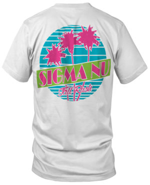 Sigma Nu Retro Rush T-shirt